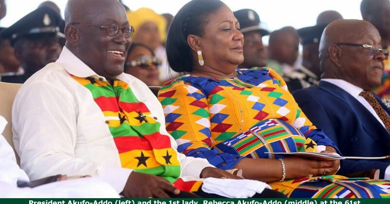 PHOTOS: Celebrities, others celebrate Ghana's 61st independent anniversary