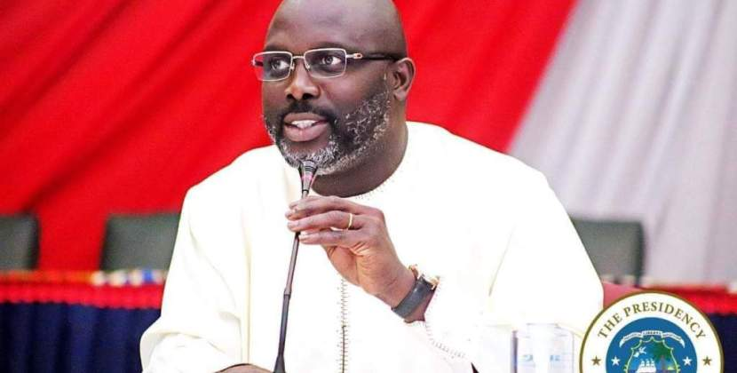 George Weah declares free university education in Liberia