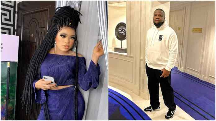 Bobrisky and Hushpuppi