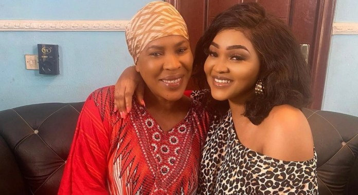 Fathia Williams and Mercy Aigbe