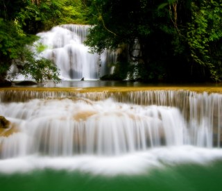 Waterfall in west of Thailand