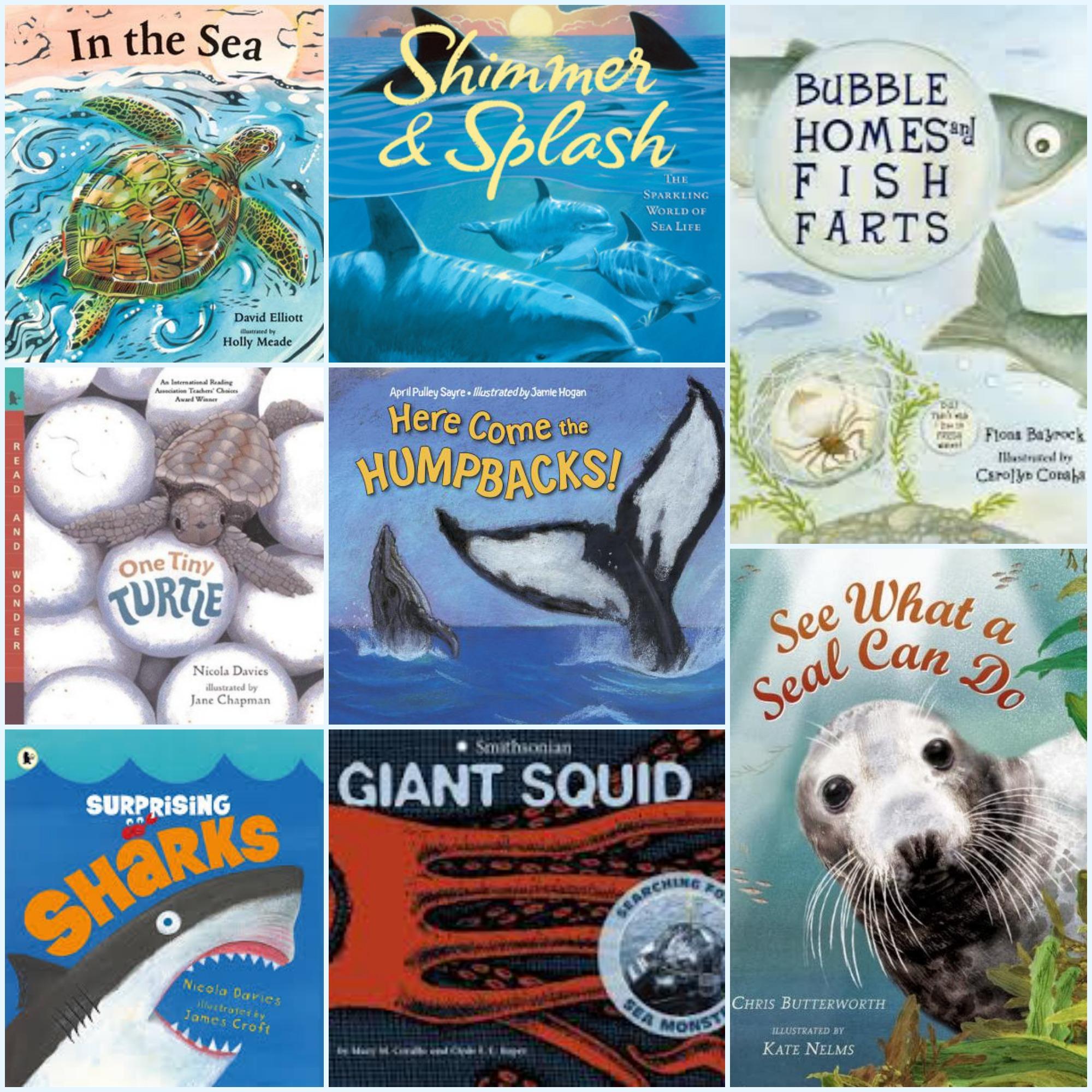 Ocean Wonders Twenty Nonfiction Picture Books About Sea