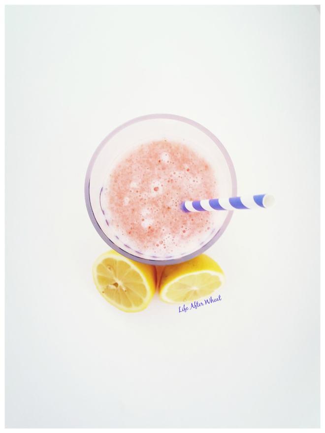 Iced Watermelon Lemonade | Life After Wheat