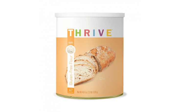 Thrive Life is a great all-purpose gluten free flour. Here's a list of recipes that work great with this flour! #glutenfree