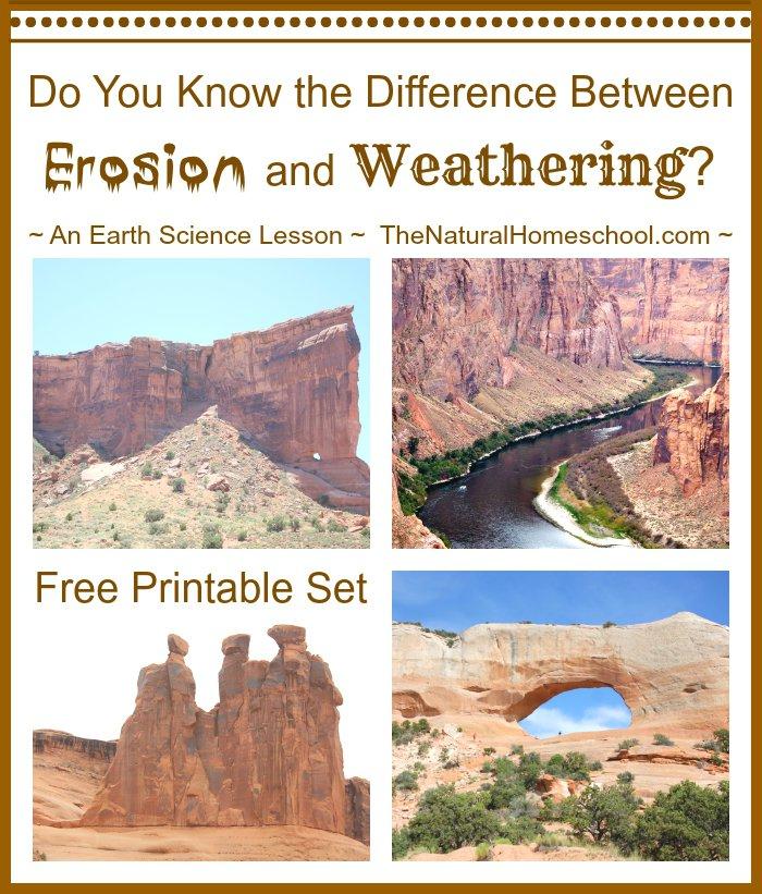 Weathering Vs Erosion