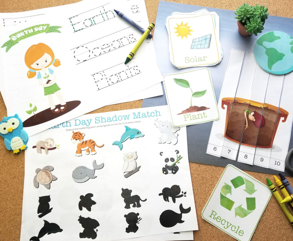 Free Earth Day Printable Activity Pack