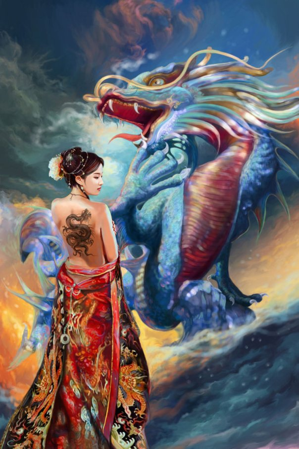 oriental_beauty_and_dragon_by_tigermyuou-d2yffpf