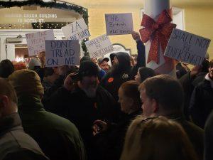 Pro-gun demonstrators