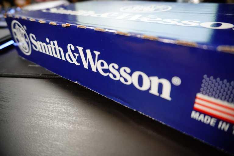 A Smith & Wesson handgun box