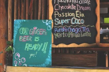 Ginger Beer Sign