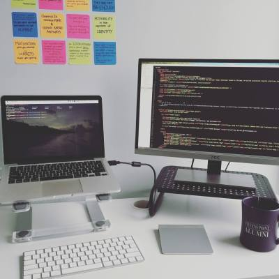 The Remote Lifestyle About Page - Workspace