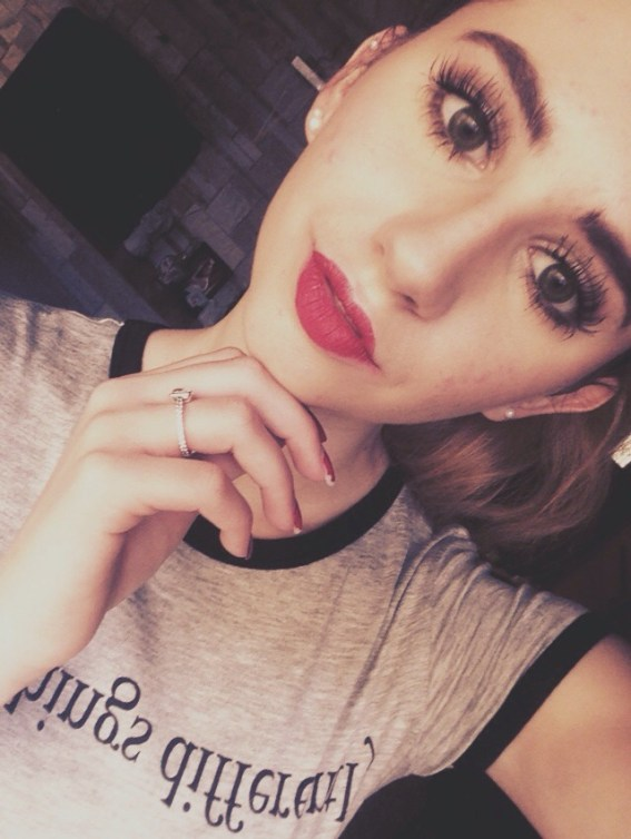 Soft Eyes and Red Lips