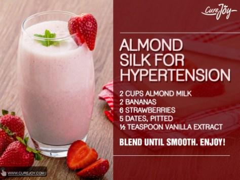 Almond-Silk For Hypertension