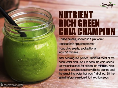 Nutrient Rich Green Chia Champion