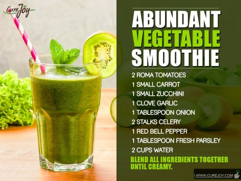 Abundant Vegetable-Smoothie