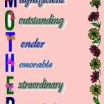Celebrating the gifts in All Mothers!