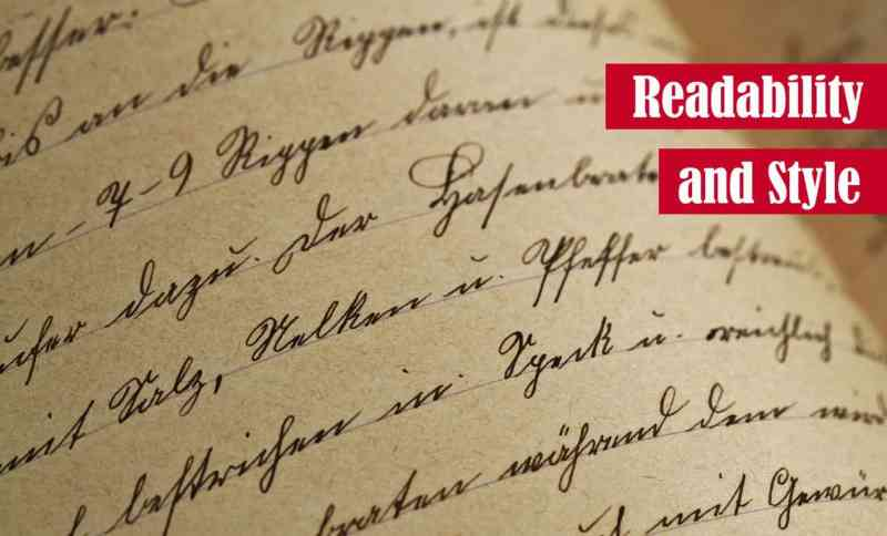 Readability and Style