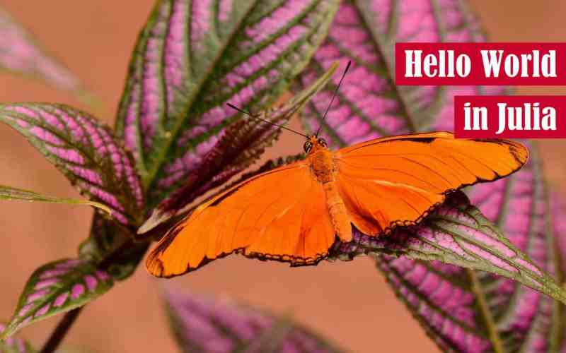 Hello World in Julia Featured Image