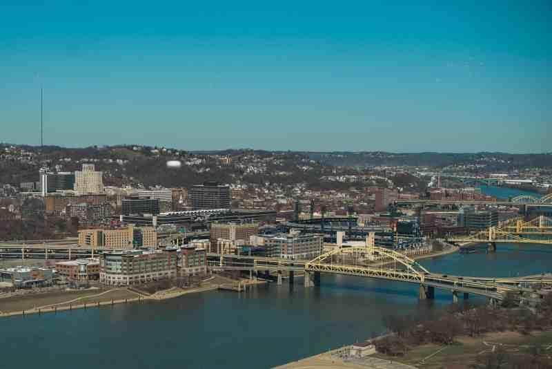 Overlooking Pittsburgh
