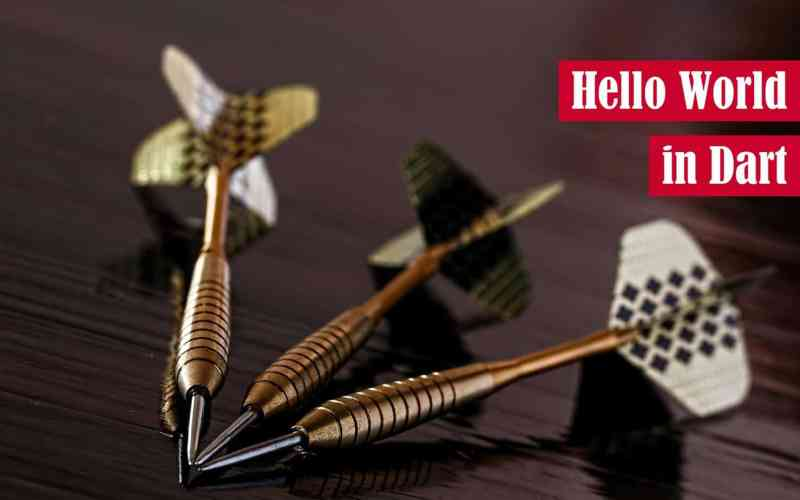 Hello World in Dart Featured Image