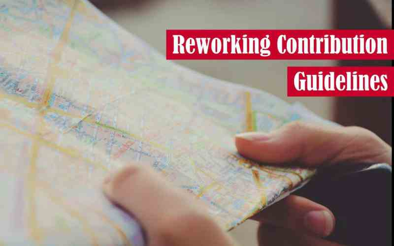 Reworking Contribution Guidelines Featured Image