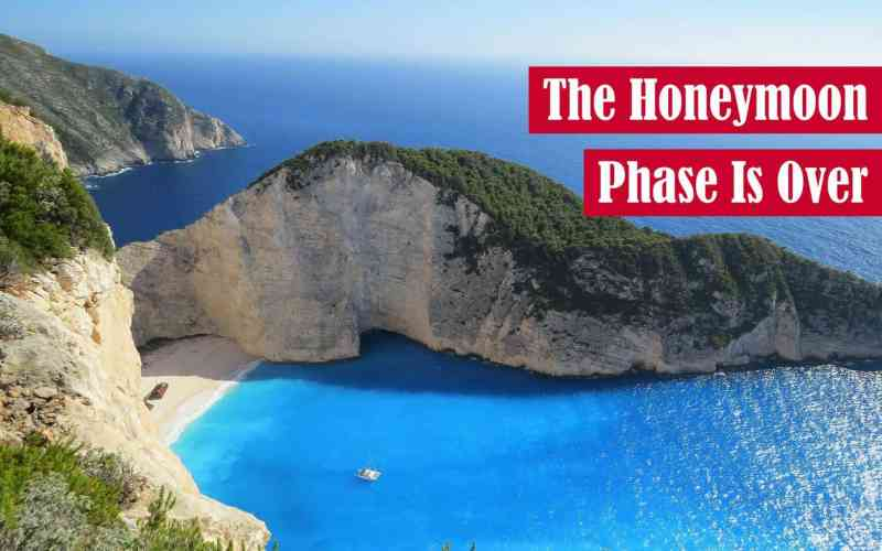 The Honeymoon Phase Is Over Featured Image