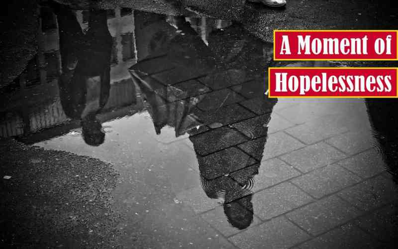 A Moment of Hopelessness Premium Featured Image