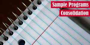Sample Programs Consolidation Featured Image