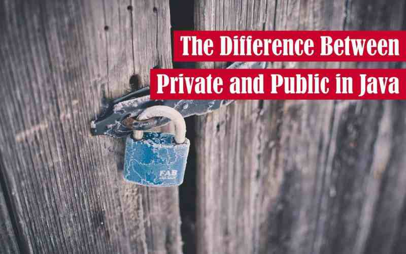 The Difference Between Private and Public in Java Featured Image