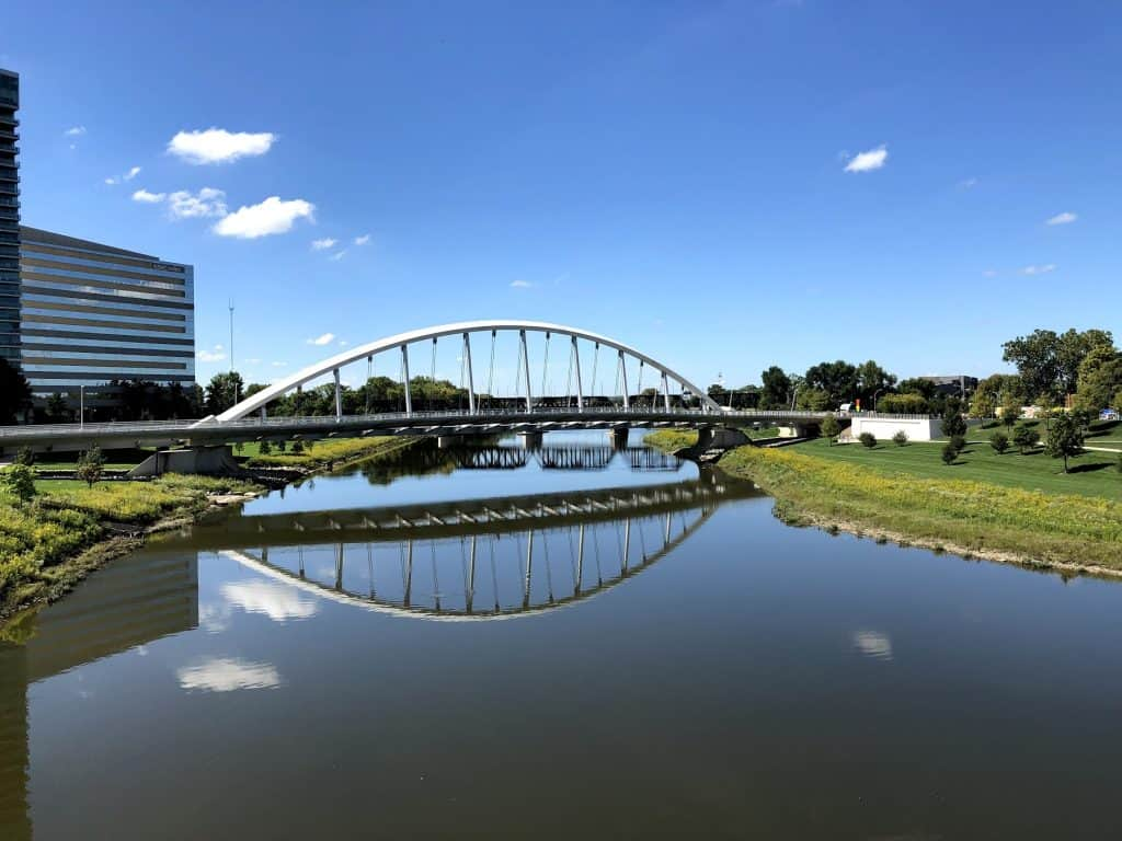 Downtown Columbus in the Summer