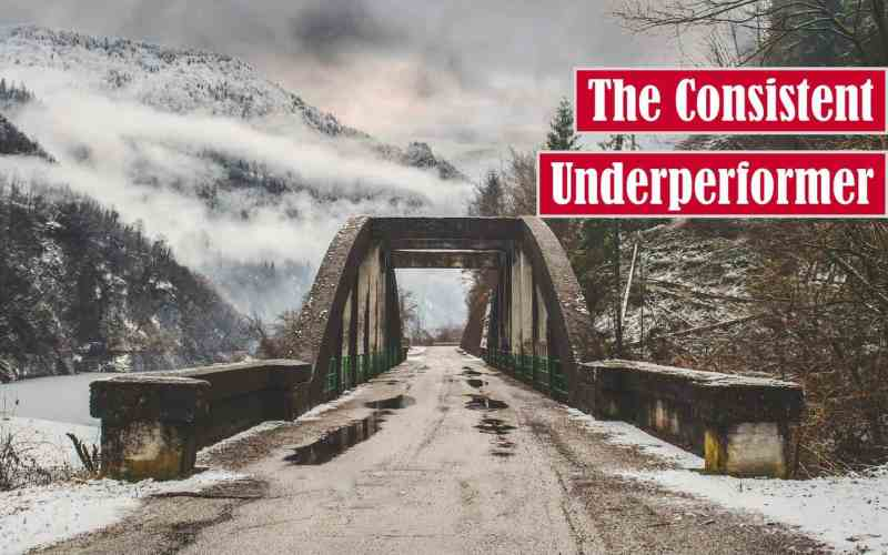 The Consistent Underperformer Free Featured Image