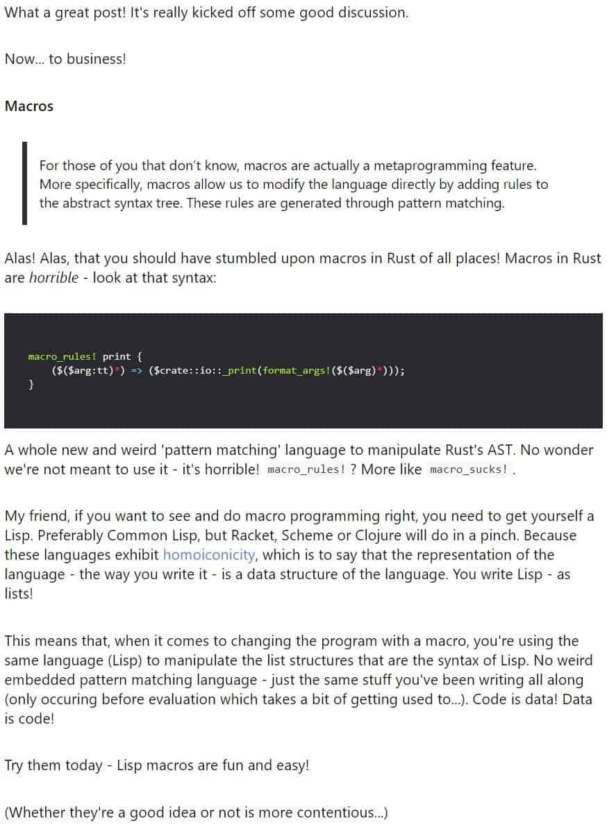 The Lisp Expert