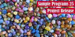 Sample Programs 25 Project Release Featured Image