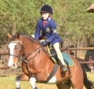 WELL DONE: Balmoral Girls' Primary School pupil Julia Sutton and her pony Pikachoo took part in the Sanesa Schools national championships in Pretoria recently and achieved the following results: Equitation 2nd, Working Riding 3rd, Utility in Hand 5th, Performance Riding 11th, Dressage 19th, 21st and 32nd, Working Hunter 26th and Jumping 29th and 30th