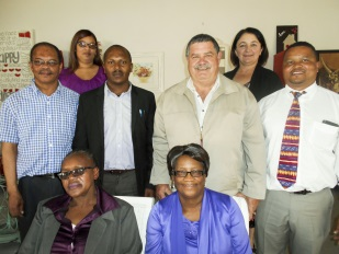 Principals of Tarka schools recently bid a fond farewell to retiring circuit manager Nomatshawe Qona