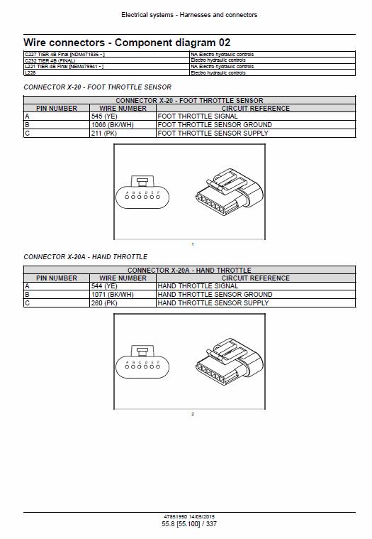 new holland l221 l228 c227 c232 c237 tier 4b skidsteer loader manual