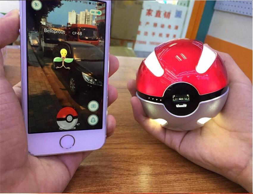 Buy Pokemon Go Pokeball Power Bank from China