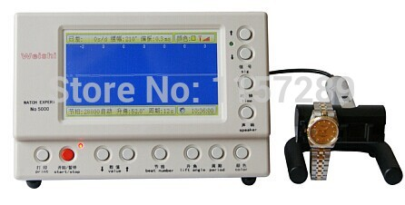 Watch Expert Watch Timing Machine Multifunction Timegrapher NO. 5000 for rolex watch repairers watch hobbyists
