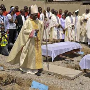 Mass burial for Christians killed by Muslims in Nigeria