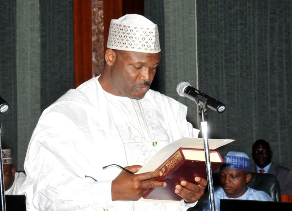 INEC-.-Prof.-Mahmood-Yakubu-takes-oath-of-office-as-INEC-Chairman-before-PMB