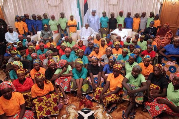 82 Freed Chibok girls with Buhari, SGF, The Republican News