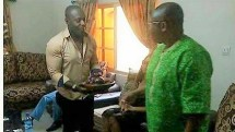 Jim Iyke serves kola nuts to Ohakim, The Republican News