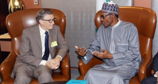 Bill-Gates-and-Buhari