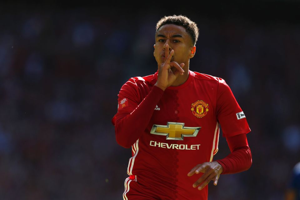 Image result for Jesse Lingard 2017