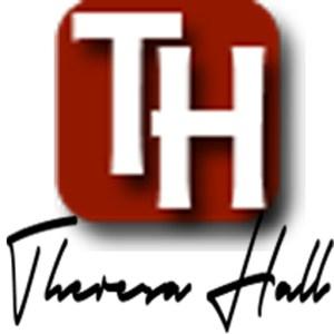 Theresa Hall signature square.