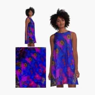 A-line dress by Teniche
