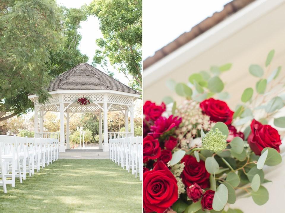 White Wedding Gazebo Inspiration