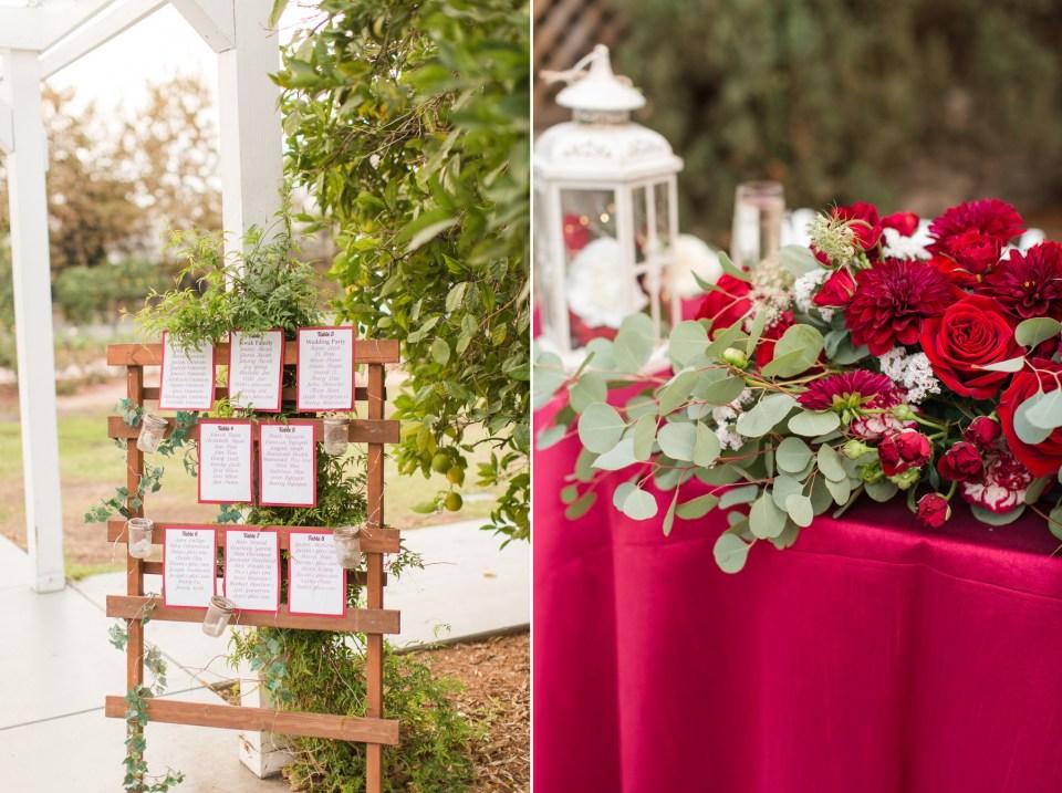Red wedding design inspiration