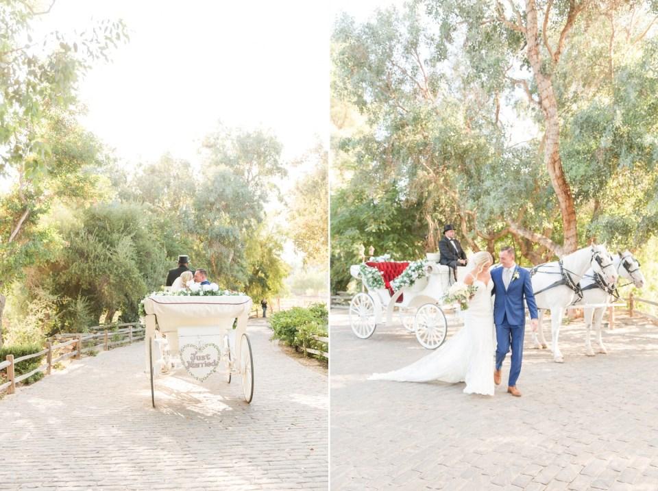 temecula wedding photography wedding carriage photo