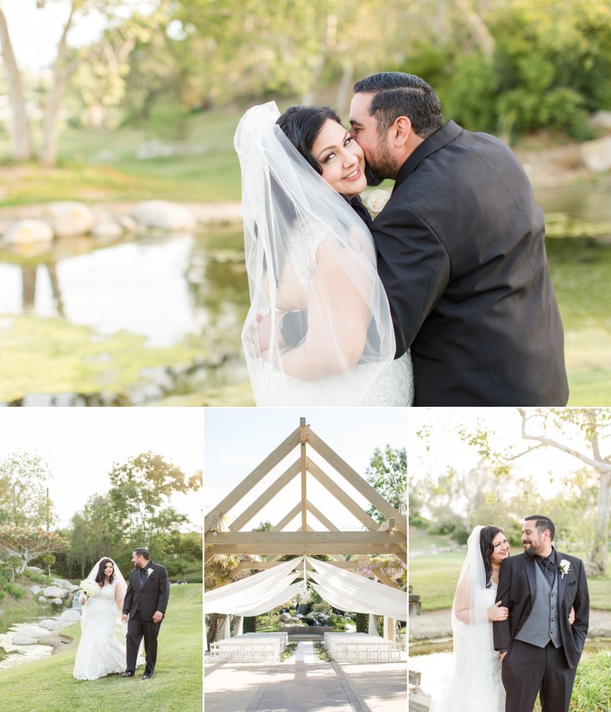 Spring wedding at Coyote Hills Golf Course